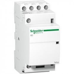 Contactor modular Schneider GC2540M5 - CONTACTOR 25 A - 4 NO - coil 220...240 V AC