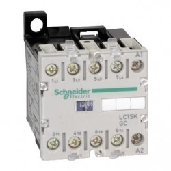 Contactor Schnedier LC1SKGC400P7 - Contactor putere TeSys SK mini contactor - 4P (4 NO) - AC-1 - 690 V 20 A - 230 V AC coil,
