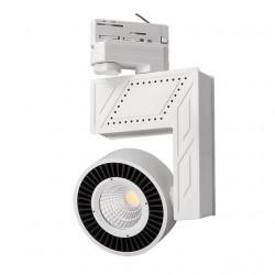 Corp de iluminat Kanlux DORTO LED 22630 - Proiector pe sina, COB, 20W, 4000k, 1565lm, IP20, alb