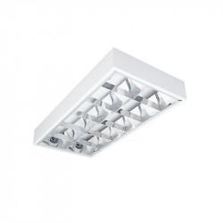 Corp de iluminat Kanlux Notus 19733 - Corp aplicat, T8, G13, 4LED, 2x18W, 615x300, IP20, alb
