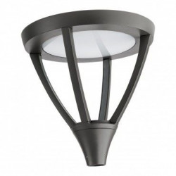 Corp iluminat Arelux XTown TT02NW DG - Corp iluminat rezidential 45W 4000K IP65 (5f), negru