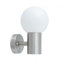 Corp iluminat Kanlux 23601 ASPA 20 - Aplica gradina 1xE27, max 13W, IP44, inox
