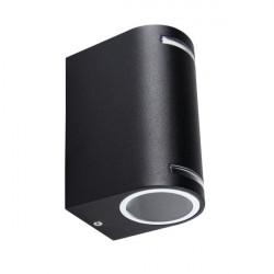 Corp iluminat Kanlux 25663 NOVIA EL - Corp iluminat rezidential PAR16, GU10, IP44, max 2x20W, negru