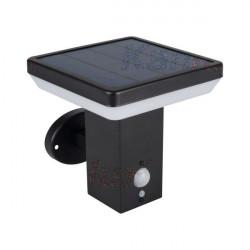 Corp iluminat Kanlux 25774 SOLCA L - Aplica gradina cu senzor miscare, 5W, 4000k, IP44, negru