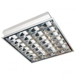Corp iluminat Kanlux 4825 VOLKER 418 PT - Corp iluminat incastrat, G13, T8, 4x18W, IP20, alb
