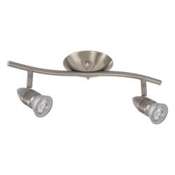 Corp iluminat Kanlux 7086 MOLI EL-2I - Aplica, GU10, 2xmax 50W, IP20, inox
