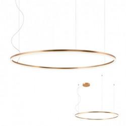 Corp iluminat Redo 01-1717 Orbit - Lustra led, 84W, 3000k, 6805lm, bronz
