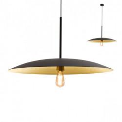 Corp iluminat Redo 01-1744 Cymbal - Lustra, max 1x42W, E27, IP20, negru, auriu