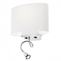 Corp iluminat Redo 01-679 Enjoy - Aplica perete , max1x42W, led 1W, 3000k, 120lm, E27, IP20lm, alb, negru, maro, bej