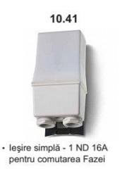 Finder 104181200000 Senzor crepuscular - RELEU CREPUSCULAR FIXARE PE STALP, 1 CONTACT ND, 16A, 120V A.C.