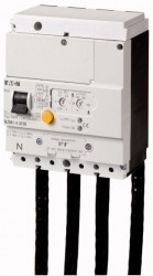Intrerupator automat Eaton 104606 - NZM1-4-XFI30R-Declansator ptr curent diferential 30mA