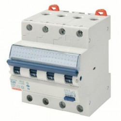 Intrerupator automat Gewiss GW94076 - COMPACT RCBO 4P C10 4.5KA AC/0.3 4M