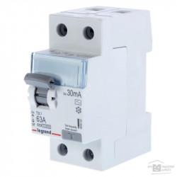 Intrerupator automat Legrand 411527 - DX3-ID 2P 80A AC 300MA