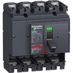 Intrerupator automat Schneider LV429008 - Disjunctor 4P, 100A, 36kA NSX100F WITHOUT TRIP UNIT COMPACT CIRCUIT BREAKER