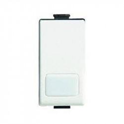 Intrerupator Bticino AM5003L Matix - Intrerupator cap-scara 16A iluminabil, fara led, 1 modul, alb