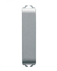 Intrerupator Gewiss GW14061 Chorus - Intrerupator ingust cap scara 1/2M 1P 10AX TITANIUM