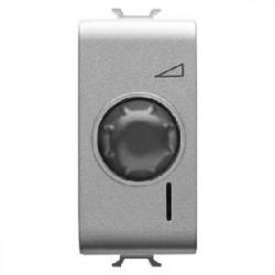 Intrerupator Gewiss GW14561 Chorus - Intrerupator cu variator rezistiv 1M 100-500W TITANIUM