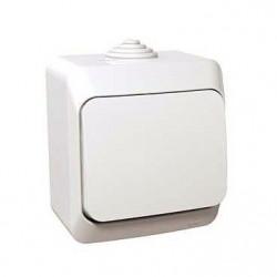 Intrerupator Schneider Cedar WDE000570 - Intrerupator cap cruce, IP44,, alb