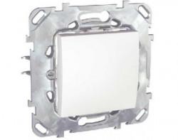 Intrerupator Schneider Unica MGU50.203.18Z - Intrerupator cap scara, 2M, alb