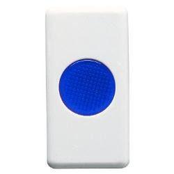 Lampa semnaliazare Gewiss GW20631 System - Indicator albastru