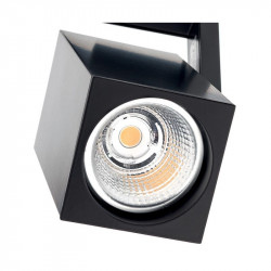Proiector LED Arelux XBrick BK01NW BK - Mini proiector cu LED 13W 50A° 4000k WW MWH (5f), negru