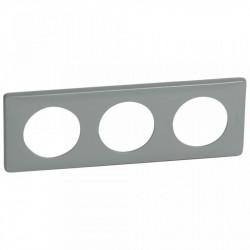 Rama Legrand 68743 Celiane - Rama 3 posturi, polimer, interax 71mm, ciment