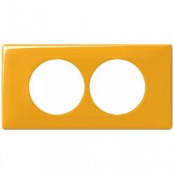 Rama Legrand 68848 Celiane - Rama 2 posturi, polimer, interax 57mm, mandarin