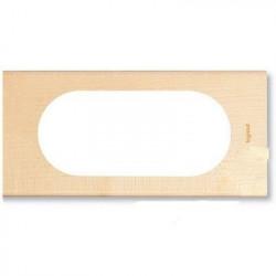 Rama Legrand 69215 Celiane - Rama 4/5 module, din lemn, artar