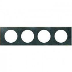 Rama Legrand 69274 Celiane - Rama metalica, 4 posturi, interax 71mm, cupru oxidat