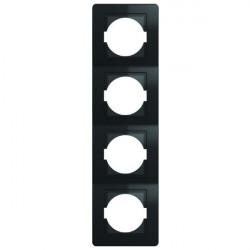 Rama Tem OE41NB-U Ekonomik - Rama 4 posturi verticala negru