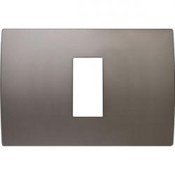 Rama Tem OP13MN-U Modul - Rama metalica decorativa Pure 1/3m nichel satinat