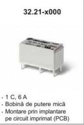 Releu Finder 322170242000 - Releu comutatie 24V, DC, 1C, 6A