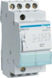 Releu Hager EPN525 - Releu de impuls (pas cu pas) 110V-230V, AC, 16A