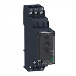 Releu Schnedier RM22TA31 - Releu pt controlul fazei - 2OF - 200 la 240Vca