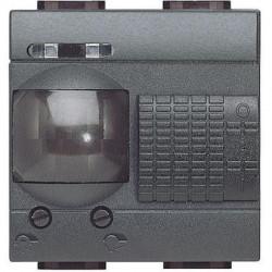 Senzor miscare Bticino L4432 Living Light - Senzor de miscare, 2A, 2M, negru