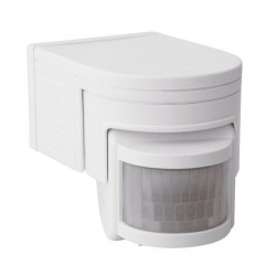 Senzor miscare Kanlux 8390 JQ-L-B SLICK - Senzor PIR, 160grade, IP44, alb