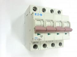 Siguranta automata Eaton 165183 - DISJUNCTOR PL7-C32/4 4P, 32A, 10kA, C