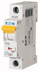 Siguranta automata Eaton 262706 - DISJUNCTOR PL7-C25/1 1P, 25A, 10kA, C