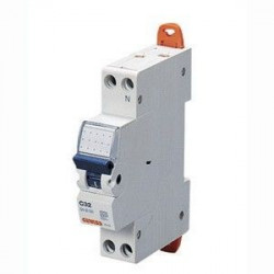 Siguranta automata Gewiss GW90028 - DISJUNCTOR 1P+N 20A 4.5kA C