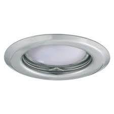 Spot Kanlux 26792 ALOR - Inel spot fix incastrat LED GU10, max 35W, IP 20, crom