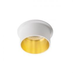 Spot Kanlux 27323 Spag - Inel spot incastrat LED GU10, max 35W, alb/auriu
