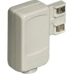 Stecher de siguranta Bticino 2200NA Living Light - Stecher pentru priza de siguranta N/NT/L4115, alb