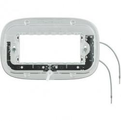 Suport Bticino HB4704X Axolute - Suport luminos, 4 module, pentru rame rectangulare