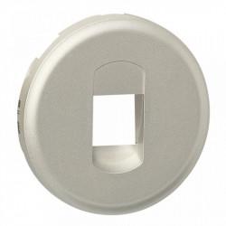 Tasta Legrand 68511 Celiane - Placa pentru priza semnal audio 67311, titan