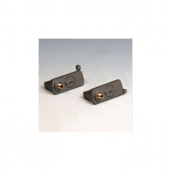 Adaptor Arelux Track TK1017 BK - Adaptor pentru sine cu trei circuite 3C, negru