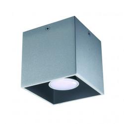 Aplica Kanlux 27031 ALGO - Corp iluminat GU10 CL-GR 40W gri
