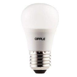 Bec cu led Opple 140048599 - Sursa LED E G50 E27 6.5W 2700K FR BL