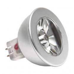 Bec Kanlux 12810 POWER-LED - Spot led, 2W, Gx5,3, 2700k-3200k, 12V, argintiu