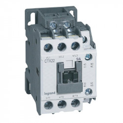 Contactor Legrand 416083 - Contactor putere CTX 3P 9A 1NO1NC 48V DC