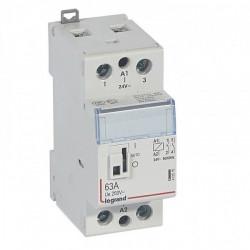 Contactor modular Legrand 412547 - CX3 CT 230V 2P 250 V~ - 63 A - 2 N/O
